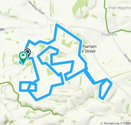 Yorkshire Mountain Bike Marathon 40KM Route