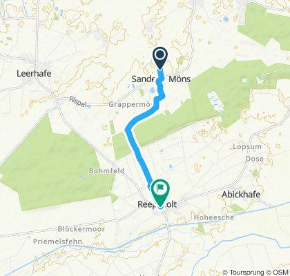 Gemütliche Route in Friedeburg