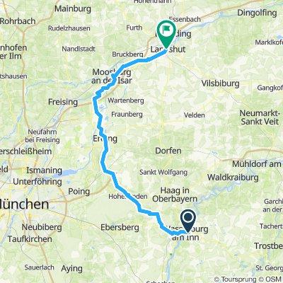 10. Wasserburg-Erding-Moosburg-Landshut