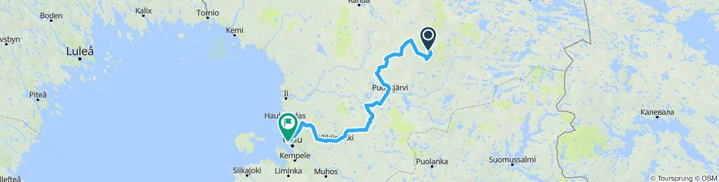 Syöteajo 2019 Syöte-Oulu
