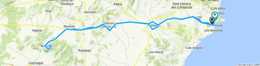 Gemütliche Route in Sant Llorenç des Cardassar