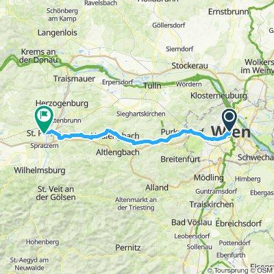 Vienne - St Polten (e3 Giro)