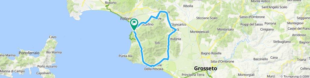 Rundfahrt Castiglione Della Pescaia