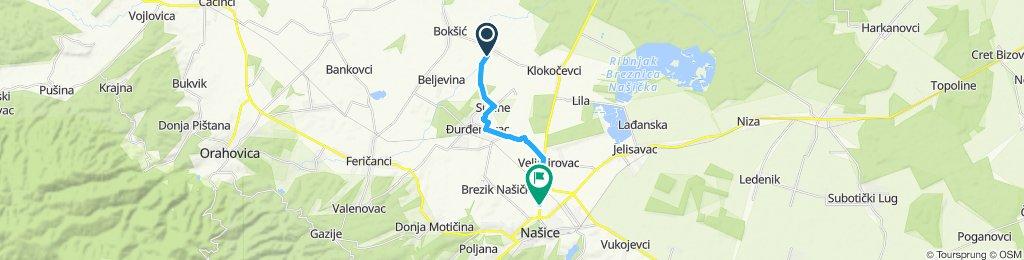 Slow ride in Našice