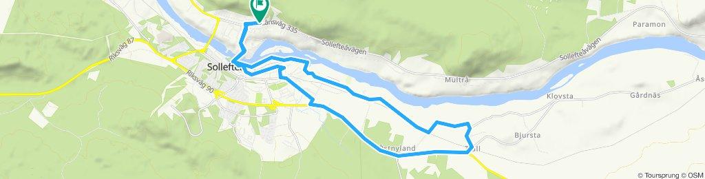 Slow ride to Tjäll