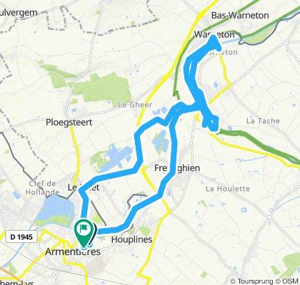 Itinéraire modéré en Armentières