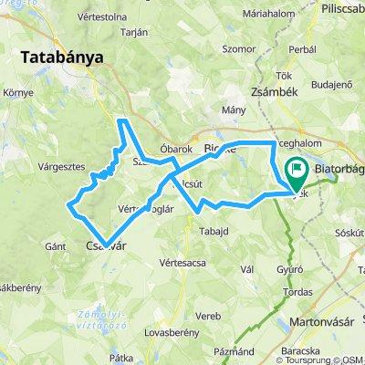 Kerékpárral a Völgy Vidéken 87,5km