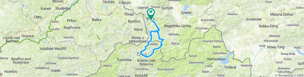 """2019.06.09 WKC GÓRAL (5) - """"U stóp Wielkiej Raczy 1226 m npm"""": Oščadnica (Słowacja)"""