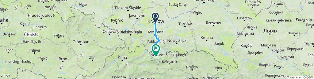 Kraków-Zakopane