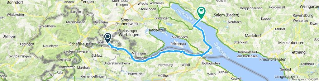 2.Tag Gailingen - Ueberlingen