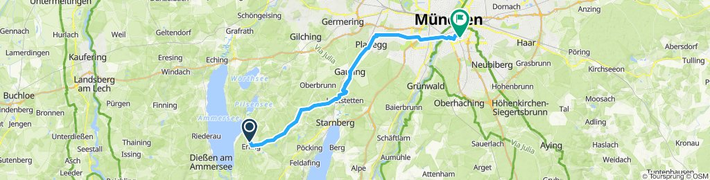 Andechs to Giesing 2