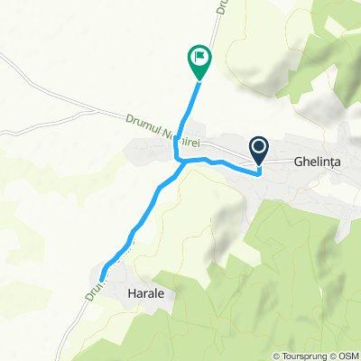 Slow ride in Ghelinţa