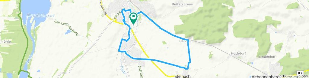 Harthof - Steinach - Merching - Mering