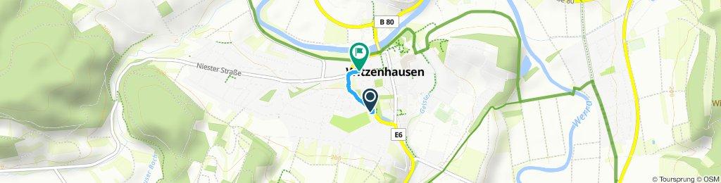 Gemütliche Route in Witzenhause