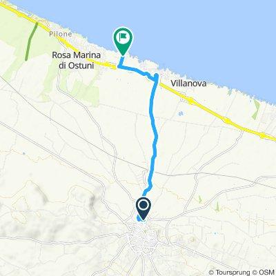 Quarto Di Monte.Valle D Itria Bikemap Your Bike Routes