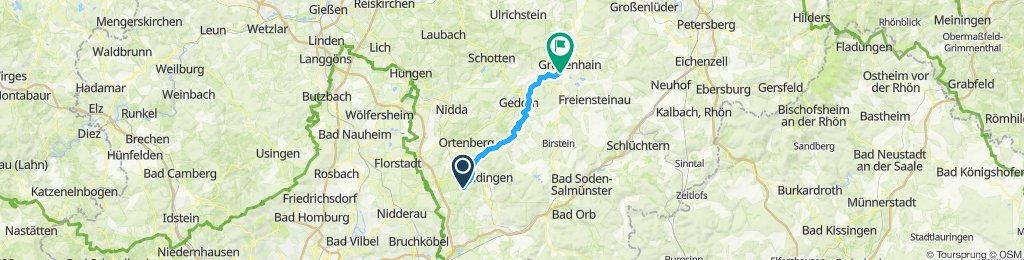 Calbach- Bettenstrasse- OberSeemen- Vulkanradweg- Bermuthshain