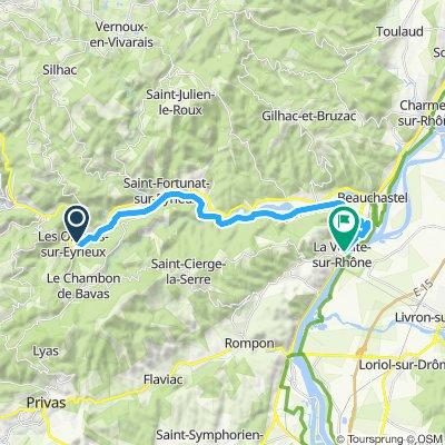 Via Dolce Les Ollieres-La Voulte sur Rhone