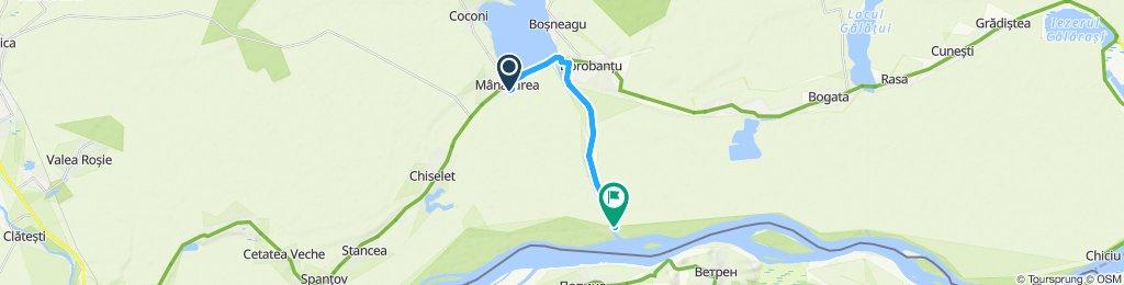 Moderate route in Dorobantu