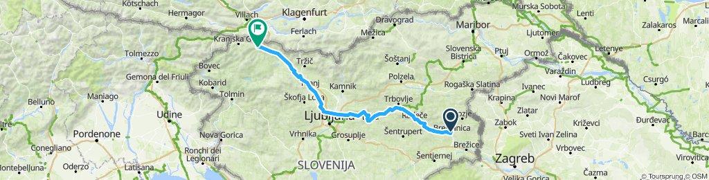 Brestanica - Mojstrana