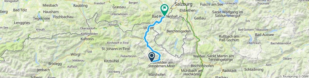 Leogang - Bad Reichenhall e-Mauntainbike