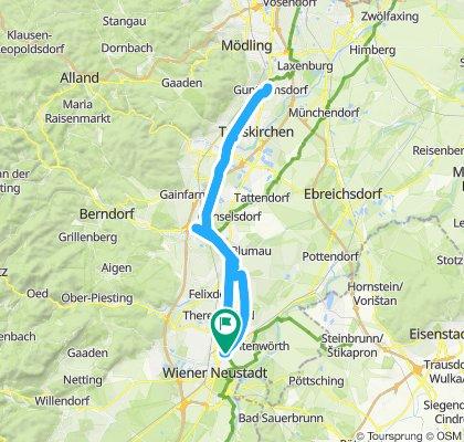 Wiener Neustadt Guntramsdorf retur