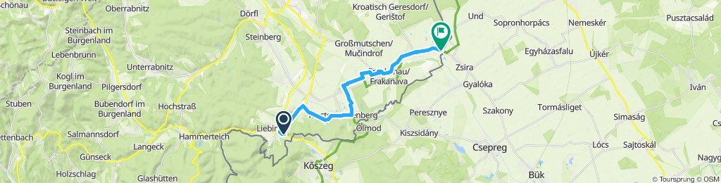 Route im Schneckentempo in Lutzmannsburg