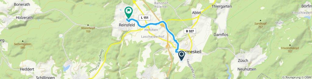 Gemütliche Route in Reinsfeld