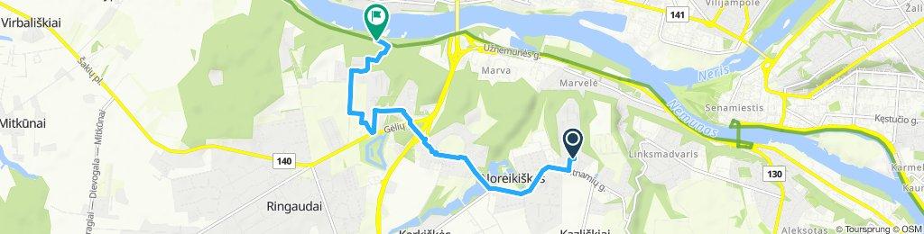 Easy ride in Kauno rajonas