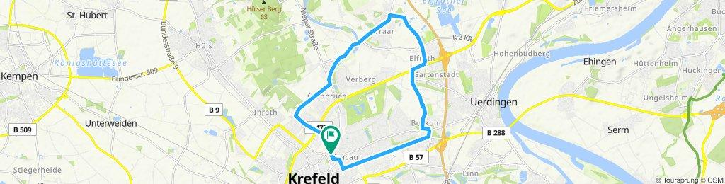 FeierabendRoute in Krefeld