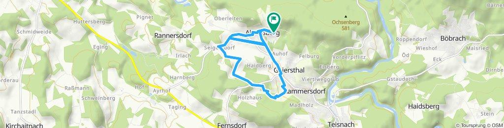 Gemütliche Route in Geiersthal