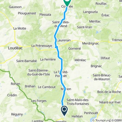 Day 6: La Croix Hellean to Colinee