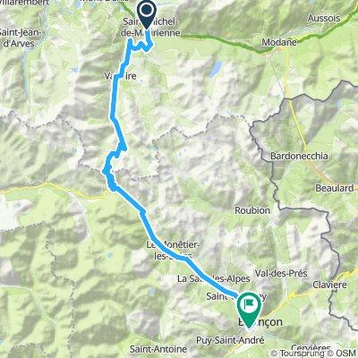 Stäfa - Tarifa Stage #5 Michel de Maurienne - Briancon