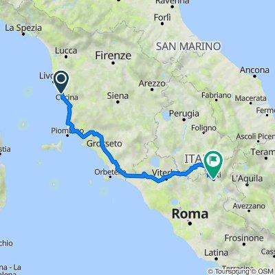 Rosignano Solvay-Viterbo-Rieti