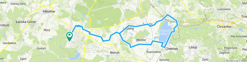 Dzieckowice 66km
