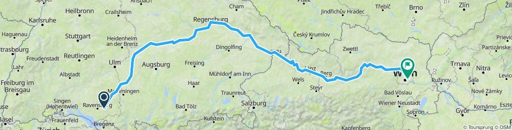 Vogt-Donauradweg-Wien