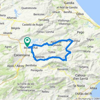 Pla de Petracos per Fageca