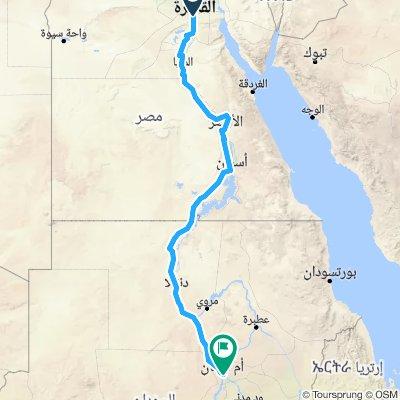 Cairo To Khartoum following Gordon