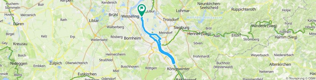 Ebiker Tour nach Oberdollendorf