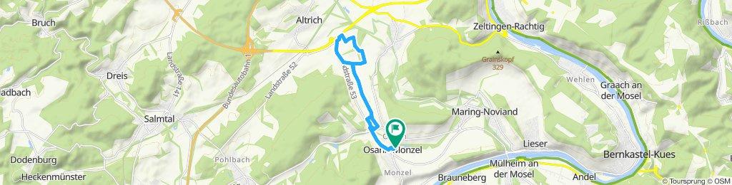 Moderate Route in Osann-Monzel