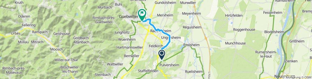 Moderate Route in Issenheim