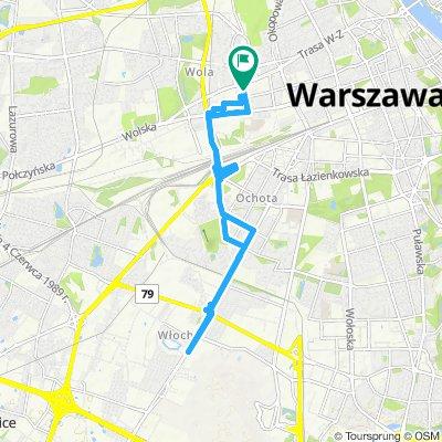 Wola - Lotnisko - Lidl - Biedronka