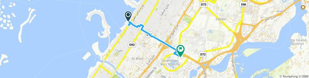 Dubai Mall TO Jumeirah Beach TO Dubai Mall | DEC