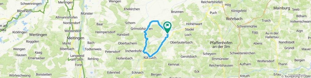 Langenmosen-Radersdorf-Kühbach-Sob