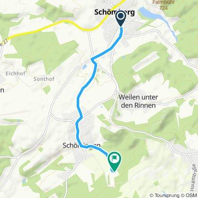 Route RW - Schörzingen