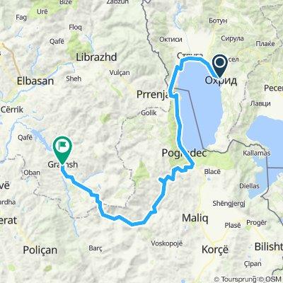 Ohrid- Gramsh: Day 7 Tour 2020