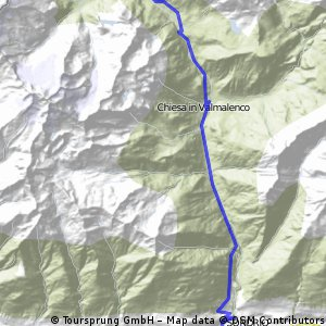 Sondrio- Val Malenco a zpět