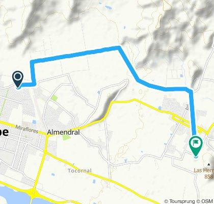 ruta el castillo