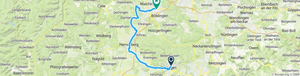 TÜ nach Sindelfingen