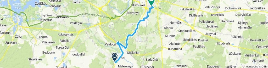 Pagiriai - Vilnius