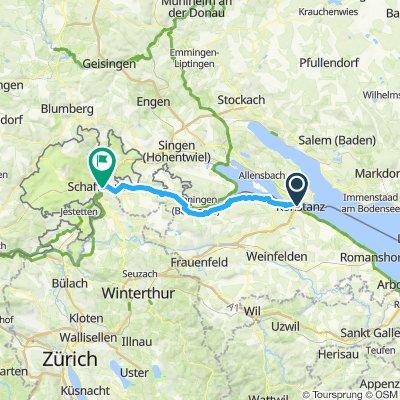 Day 1: Konstanz to Schaffhausen